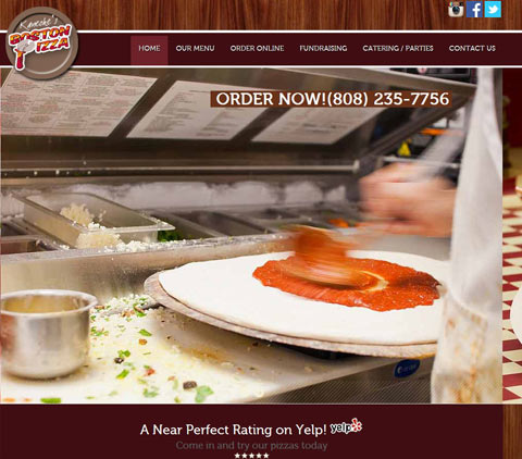 Kaneohe Boston Pizza Hawaii