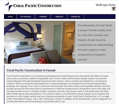 Coral Pacific Construction