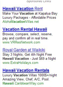 Google Pay Per Click - Search Engine Marketing in Hawaii
